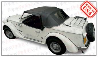 Convertible Tops & Accessories:1968 thru 1975 Fiat Siata & Siata Spring