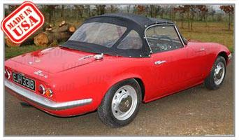 Convertible Tops & Accessories:1961 thru 1966 Lotus Elan Sprint S-1 & 1600 S-2 Roadster