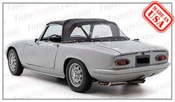 Convertible Tops & Accessories:1967 thru 1972 Lotus Elan Sprint S-3 & S-4 Drophead