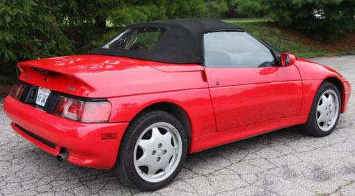Convertible Tops & Accessories:1989 thru 1995 Lotus Elan M100 Roadster