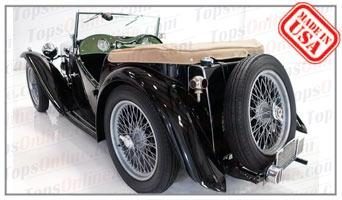 Convertible Tops & Accessories:1946 thru 1949 MG-TC