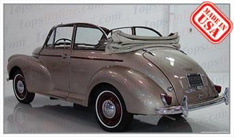 Convertible Tops & Accessories:1957 thru 1969 Morris Minor 1000 Convertible