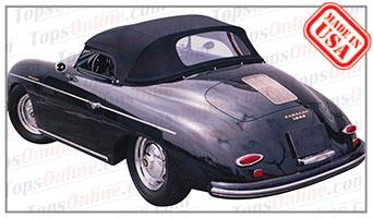 Convertible Tops & Accessories:1957 and 1958 Porsche 356A Speedster