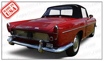 Convertible Tops & Accessories:1964 thru 1968 Renault Floride, Floride S & 1100 Caravelle
