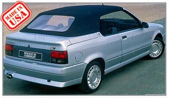 Convertible Tops & Accessories:1988 thru 2000 Renault R19 Cabrio Cabriolet