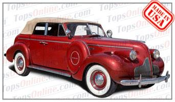 Convertible Tops & Accessories:1937 and 1938 Buick Special 46C Phaeton 4 Door Convertible