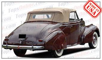 Convertible Tops & Accessories:1939 and 1940 Pontiac Deluxe 6 & Deluxe 8