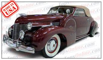 Convertible Tops & Accessories:1940 Cadillac Series 62 2 Door Convertible