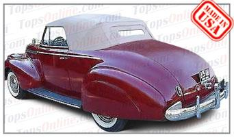 Convertible Tops & Accessories:1940 Chevy Special Deluxe KA