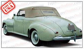 Convertible Tops & Accessories:1940 Oldsmobile 90 Series 2 Door Convertible Coupe