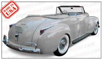 Convertible Tops & Accessories:1940 thru 1942 Dodge Custom & Deluxe Convertible Coupe