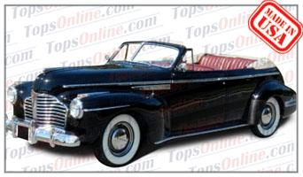 Convertible Tops & Accessories:1941 Buick Roadmaster Phaeton & Super Phaeton 4 Door Convertible