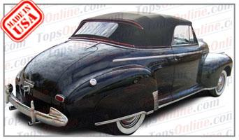 Convertible Tops & Accessories:1941 Chevy Special Deluxe AH