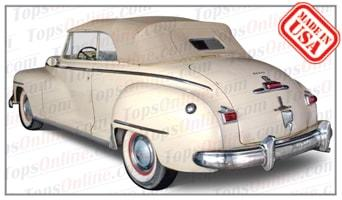 Convertible Tops & Accessories:1946 thru 1948 Dodge Custom