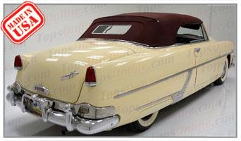 Convertible Tops & Accessories:1948 thru 1954 Hudson Commodore, Hornet, Pacemaker, Super & Wasp