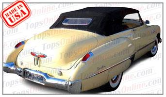 Convertible Tops & Accessories:1949 Buick Roadmaster 76C & Super 56C