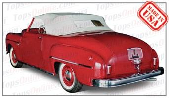 Convertible Tops & Accessories:1949 Dodge Wayfarer Roadster