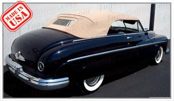 Convertible Tops & Accessories:1949 Lincoln Series 9EL Baby Convertible (Not Cosmopolitan)