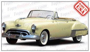 Convertible Tops & Accessories:1949 Oldsmobile Futuramic 76 & 88