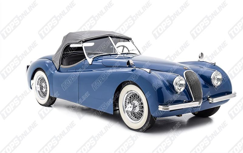 Convertible Tops & Accessories:1949 thru 1951 Jaguar XK120 Roadster