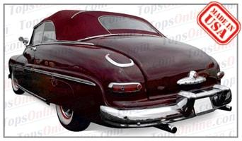 Convertible Tops & Accessories:1949 thru 1951 Mercury 76 & Mercury M76