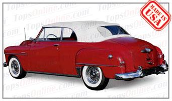 Convertible Tops & Accessories:1949 thru 1952 Plymouth Cranbrook & Special Deluxe