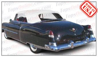 Convertible Tops & Accessories:1950 thru 1952 Cadillac Series 62 Convertible