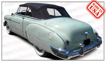 Convertible Tops & Accessories:1950 thru 1952 Chevy Styleline Deluxe