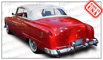 Convertible Tops & Accessories:1951 and 1952 Oldsmobile 88, Super 88, Deluxe 88 & 1952 Olds 98