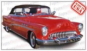 Convertible Tops & Accessories:1953 Buick Special 46c