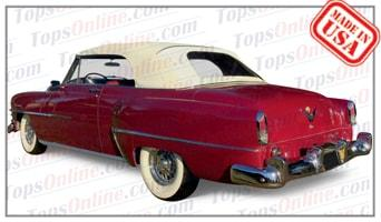 Convertible Tops & Accessories:1953 and 1954 Chrysler New Yorker, New Yorker Deluxe & Windsor Deluxe