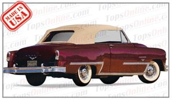 Convertible Tops & Accessories:1953 and 1954 Desoto Firedome