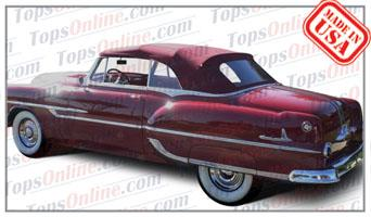 Convertible Tops & Accessories:1953 and 1954 Pontiac Chieftain & Star Chief