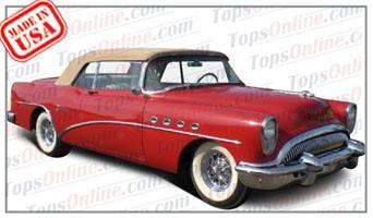 Convertible Tops & Accessories:1954 thru 1956 Buick Roadmaster 76c & Super 56c