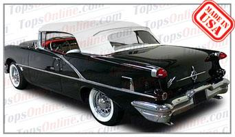 Convertible Tops & Accessories:1954 thru 1956 Oldsmobile 88, Super 88, Starfire 88 & 98 (Ninety Eight)