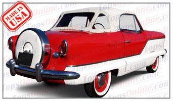 Convertible Tops & Accessories:1954 thru 1962 Metropolitan Nash, Hudson & Austin