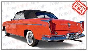 Convertible Tops & Accessories:1955 Chrysler New Yorker & Windsor Deluxe
