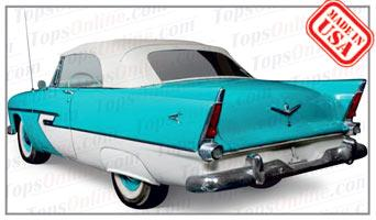 Convertible Tops & Accessories:1955 and 1956 Plymouth Belvedere