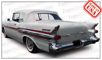 Rubber Weatherstrips (Weather Seals):1955 thru 1957 Pontiac Bonneville, Chieftain & Star Chief Convertible