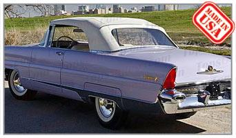 Convertible Tops & Accessories:1956 and 1957 Lincoln Premiere 2 Door Convertible