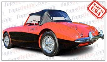 Convertible Tops & Accessories:1956 thru 1958 Austin Healey Roadster 100-6 BN4 Long Bridge Car
