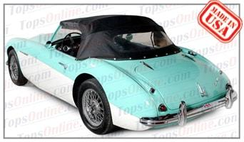 Convertible Tops & Accessories:1956 thru 1959 Austin Healey 100-6 BN4 & 3000 BT7 Roadster (Mark 1)