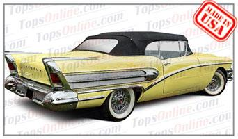 Rubber Weatherstrips (Weather Seals):1957 and 1958 Buick Century 66c & Special 46c Convertible