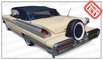 Convertible Tops & Accessories:1957 and 1958 Mercury Montclair, Monterey, Parklane & Turnpike Crusier