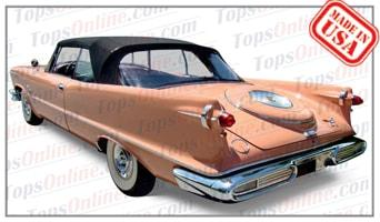 Convertible Tops & Accessories:1957 thru 1959 Chrysler Imperial Crown