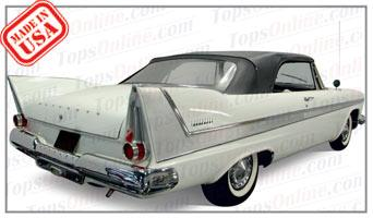Convertible Tops & Accessories:1957 thru 1959 Plymouth Belvedere & Sport Fury