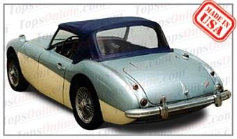 Convertible Tops & Accessories:1957 thru 1962 Austin Healey 100-6 BN6 & 3000 BN7 Roadster (Mark 1 & 2)