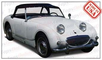 Convertible Tops & Accessories:1958 and 1959 Austin Healey Sprite MK I, Bug Eye