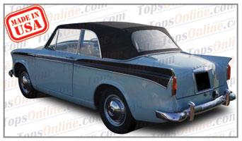 Convertible Tops & Accessories:1958 thru 1963 Sunbeam Rapier II & Rapier III Roadster