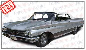 Rubber Weatherstrips (Weather Seals):1959 and 1960 Buick Electra, Invicta & Lesabre Convertible